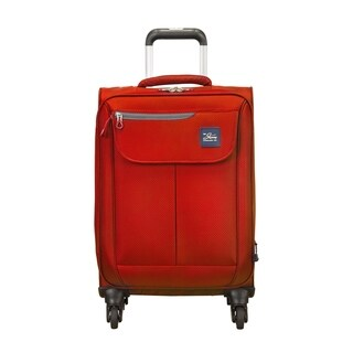 Skyway Mirage 2.0 True Red 20-inch Expandable Carry On Spinner Suitcase
