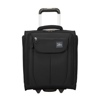 Skyway Mirage 2.0 Black 16-inch Under Seat Rolling Carry On Tote Bag