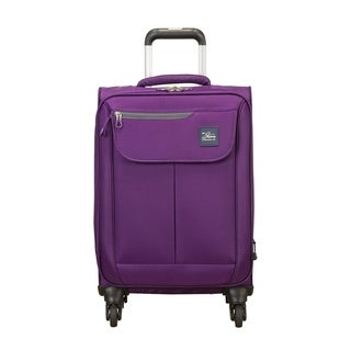 Skyway Mirage 2.0 Purple Magic 20-inch Expandable Carry On Spinner Suitcase