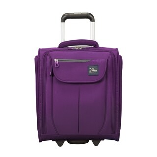 Skyway Mirage 2.0 Purple Magic 16-inch Under Seat Carry On Rolling Tote Bag