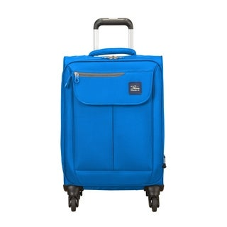 Skyway Mirage 2.0 Blue Royal 20-inch Expandable Carry On Spinner Suitcase