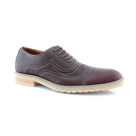 Ferro Aldo Xavier MFA19382LE Men's Oxford Dress Shoes with Lace-up Closure For Everyday Wear