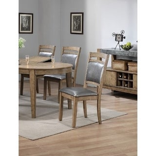 Good Novalie Platinum Contemporary Dining Chairs (Set Of 6)