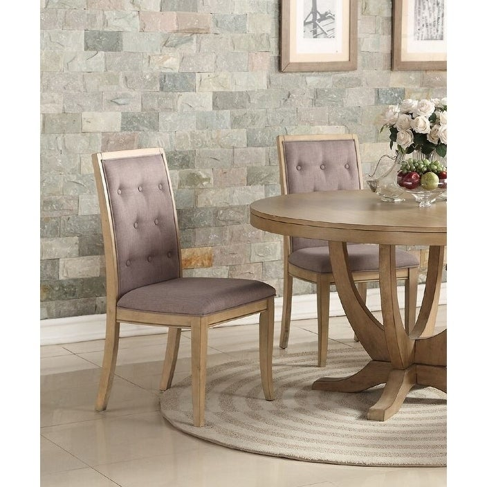 Malaren Contemporary Taupe Dining Chairs (Set of 4) (Side Chair - Beige - Modern & Contemporary)