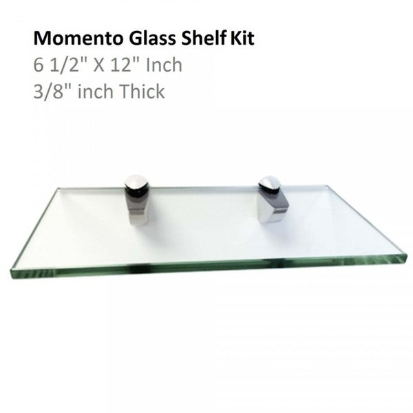 Momento Glass Shelf Kit 6 1/2\