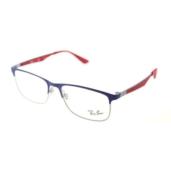 55b1e32ae1 Ray-Ban Rectangle RY 1052 4057 Children  x27 s Gunmetal Matte Blue Frame.  Click to Zoom
