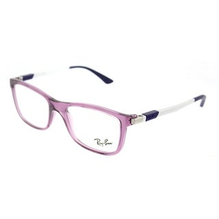 Ray-Ban Square RY 1549 3735 Children's Transparent Violet Frame Eyeglasses