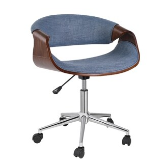 Porthos Home Adjustable Office Chair With Fabric Upholstery,And Wheels