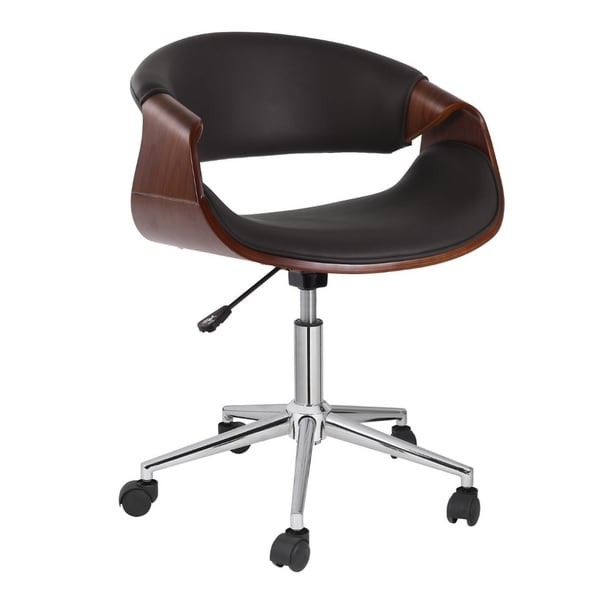 Porthos Home Adjustable Office Chair With 360-Degree Swivel And Wheels