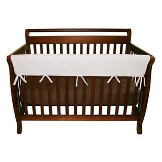 CribWrap® Wide 1 Long White Fleece Rail Cover