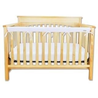 CribWrap® Narrow 1 Long White Fleece Rail Cover