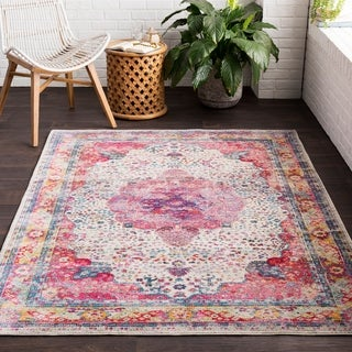 Guileforth Classic Distressed Area Rug (2' x 3')