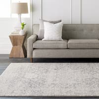 Colony House Light Grey Vintage Oriental Area Rug (10' x 14')