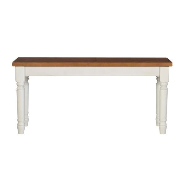 Willow Modern Farmhouse Wood Bench On Sale Overstock 18224979