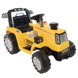 6V Tractor - Yellow