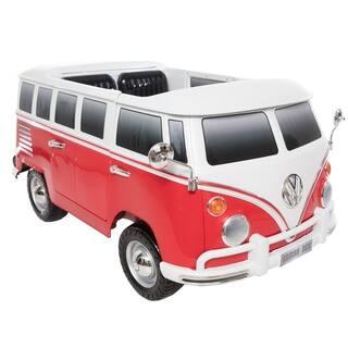 Ride on Volkswagen T1 Camper Van 12V - Red|https://ak1.ostkcdn.com/images/products/18225000/P24365884.jpg?impolicy=medium
