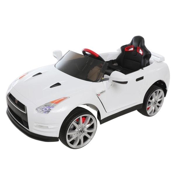 Nissan GTR-R35 12V Ride On - White