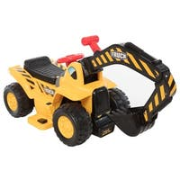 6V Lil Backhoe - Yellow
