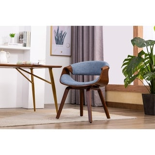 Porthos Home Living Room Chair With Fabric Upholstery and Wooden Legs