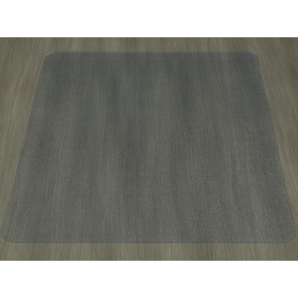 Shop Ottomanson Hard Floor Chair Mat Clear Plastic Mat
