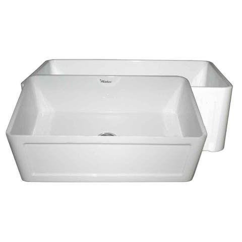 Whitehaus CollectionFireclay Reversible Sink