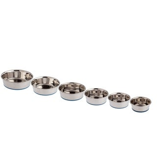 OurPets DuraPets Premium Rubber-Bonded Stainless Steel Bowls