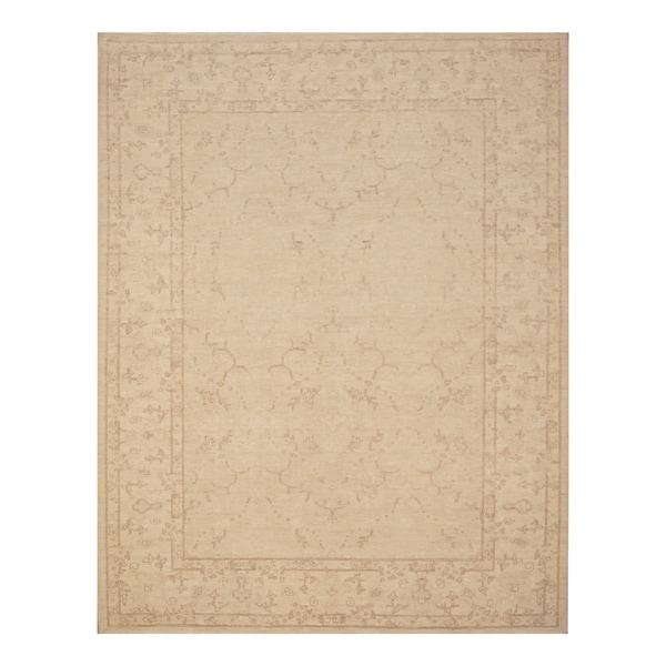 Handmade Vegetable Dye Khotan Wool Rug (Afghanistan) - 6'1 x 7'9
