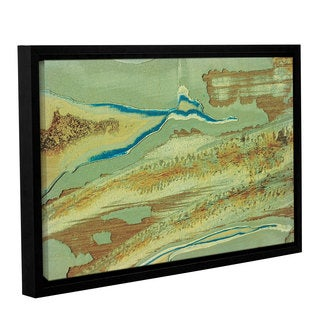 Bridgeman Bma's Paint On Metal 2, Gallery Wrapped Floater-framed Canvas