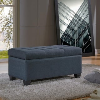 Link to Sarah-Storage Ottoman Similar Items in As Is