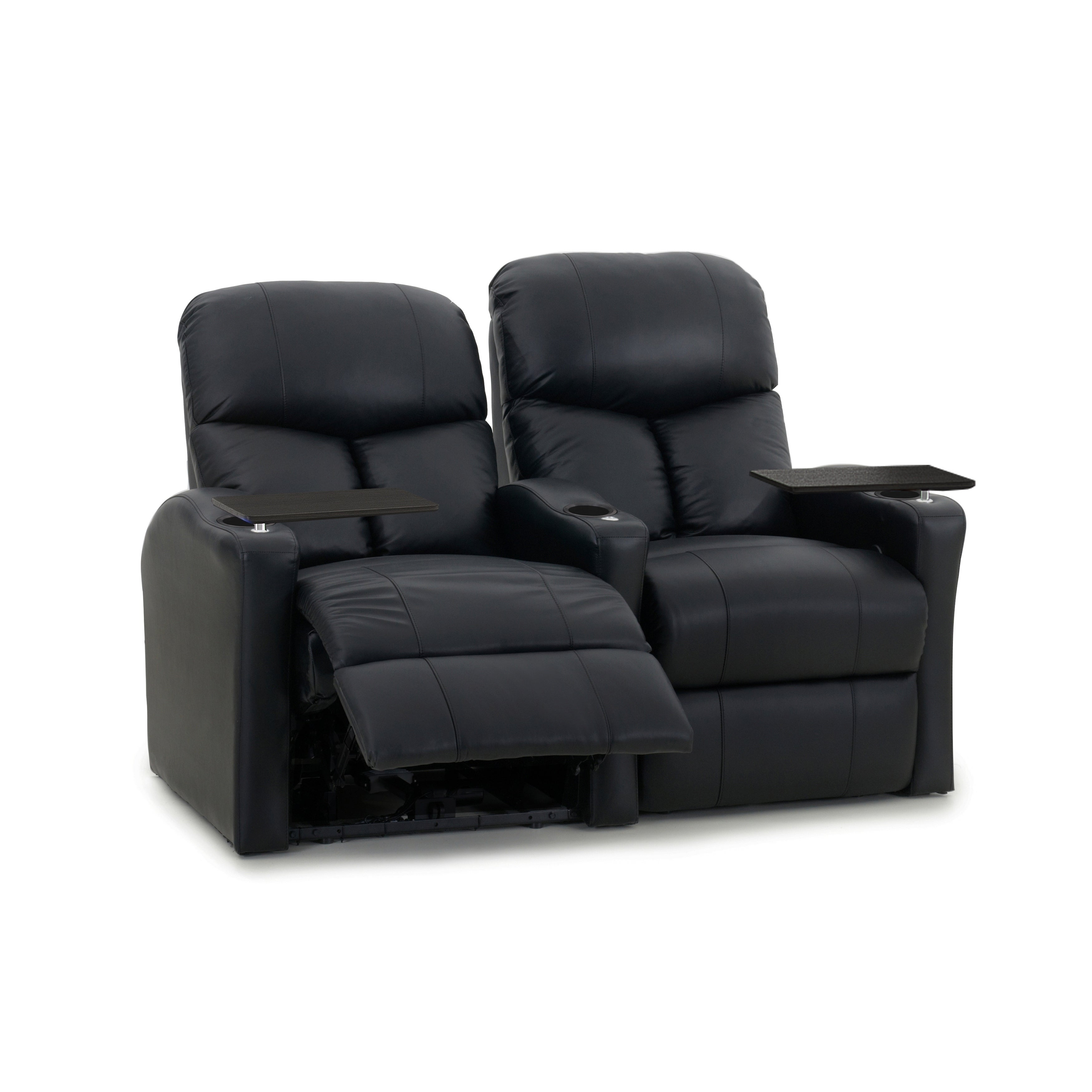 Octane Bolt XS400 Manual Leather Home Theater Seating Set...
