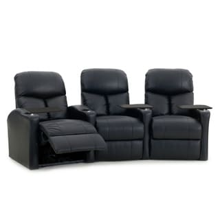 Octane Bolt XS400 Power Leather Home Theater Seating Set (Row of 3)