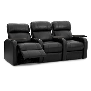 Octane Diesel XS950 Manual Leather Home Theater Seating Set (Row Of 3)