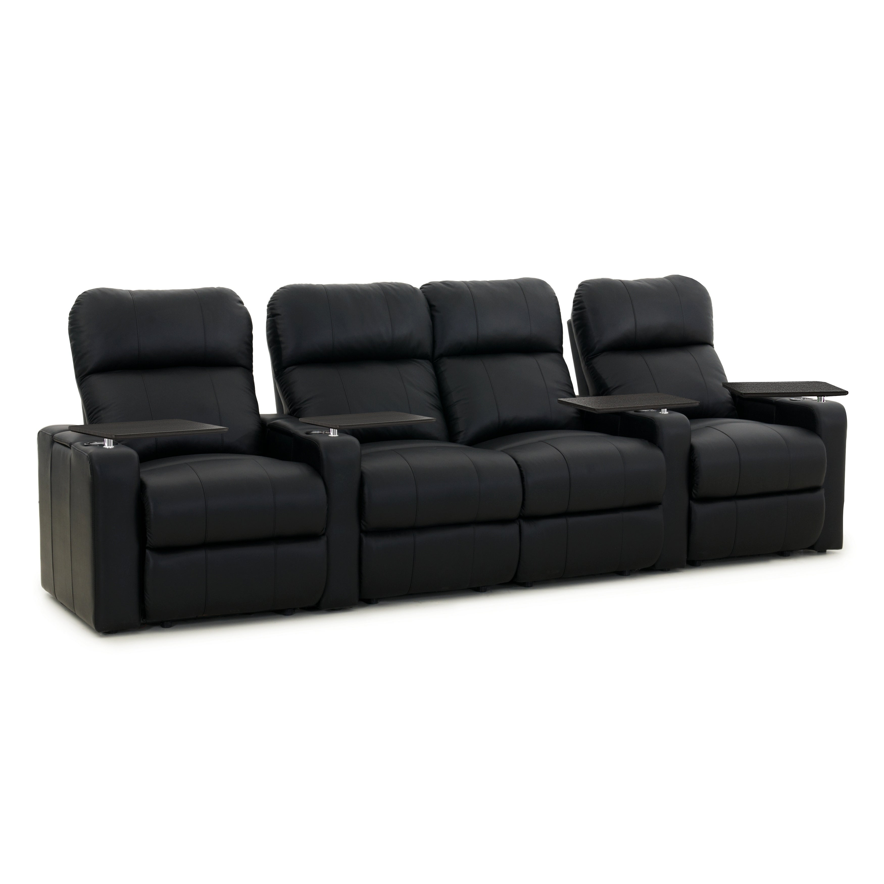 Octane Turbo XL700 Manual Leather Home Theater Seating Se...