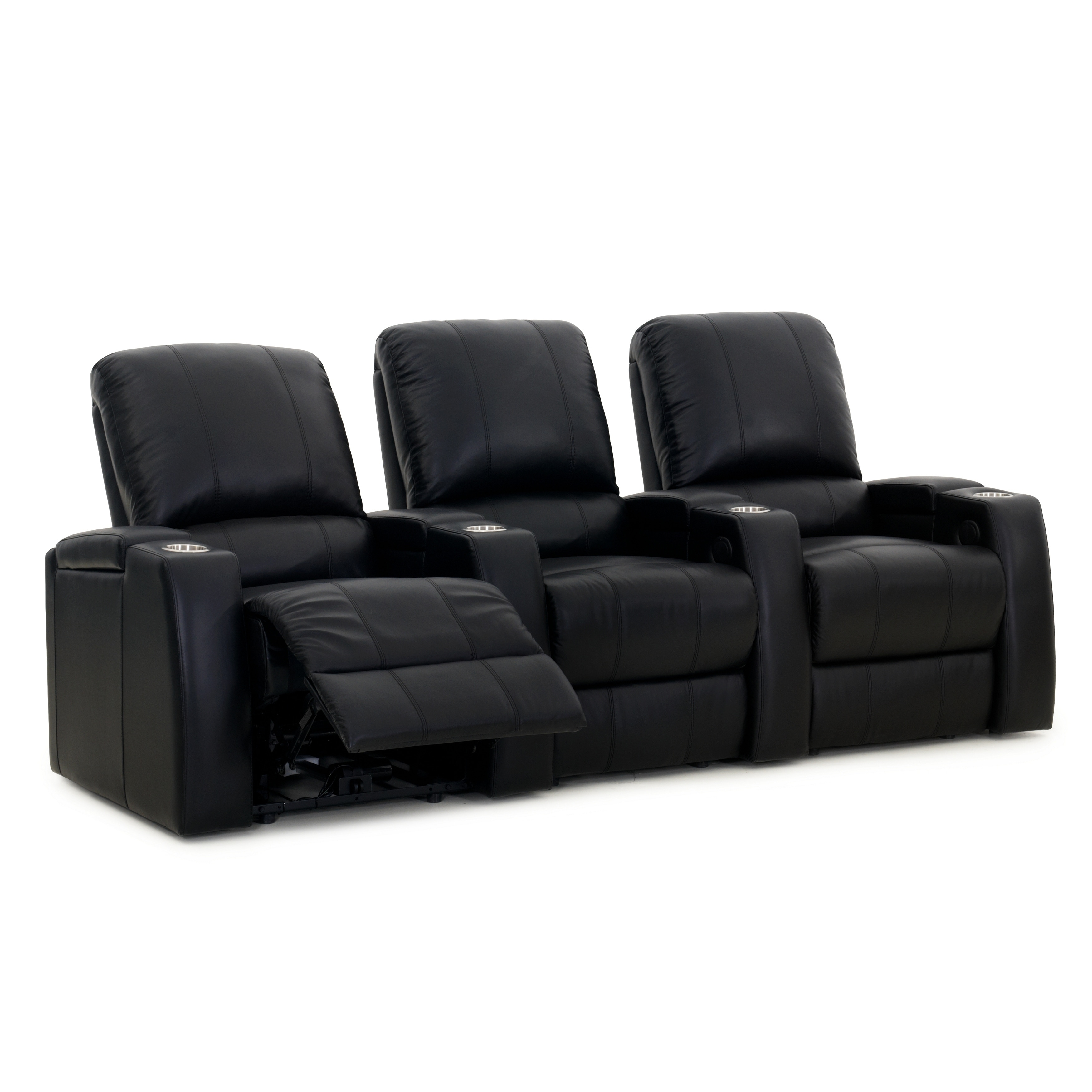 Octane Storm XL850 Power Leather Recliner Home Theater Se...