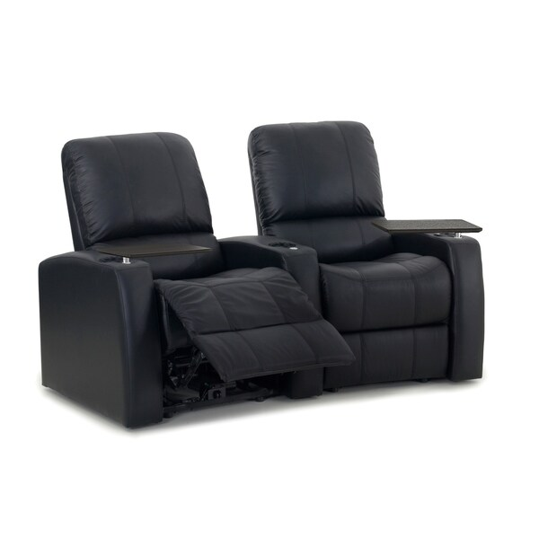 Octane Blaze XL900 Manual Leather Home Theater Seating Set (Row of 2)