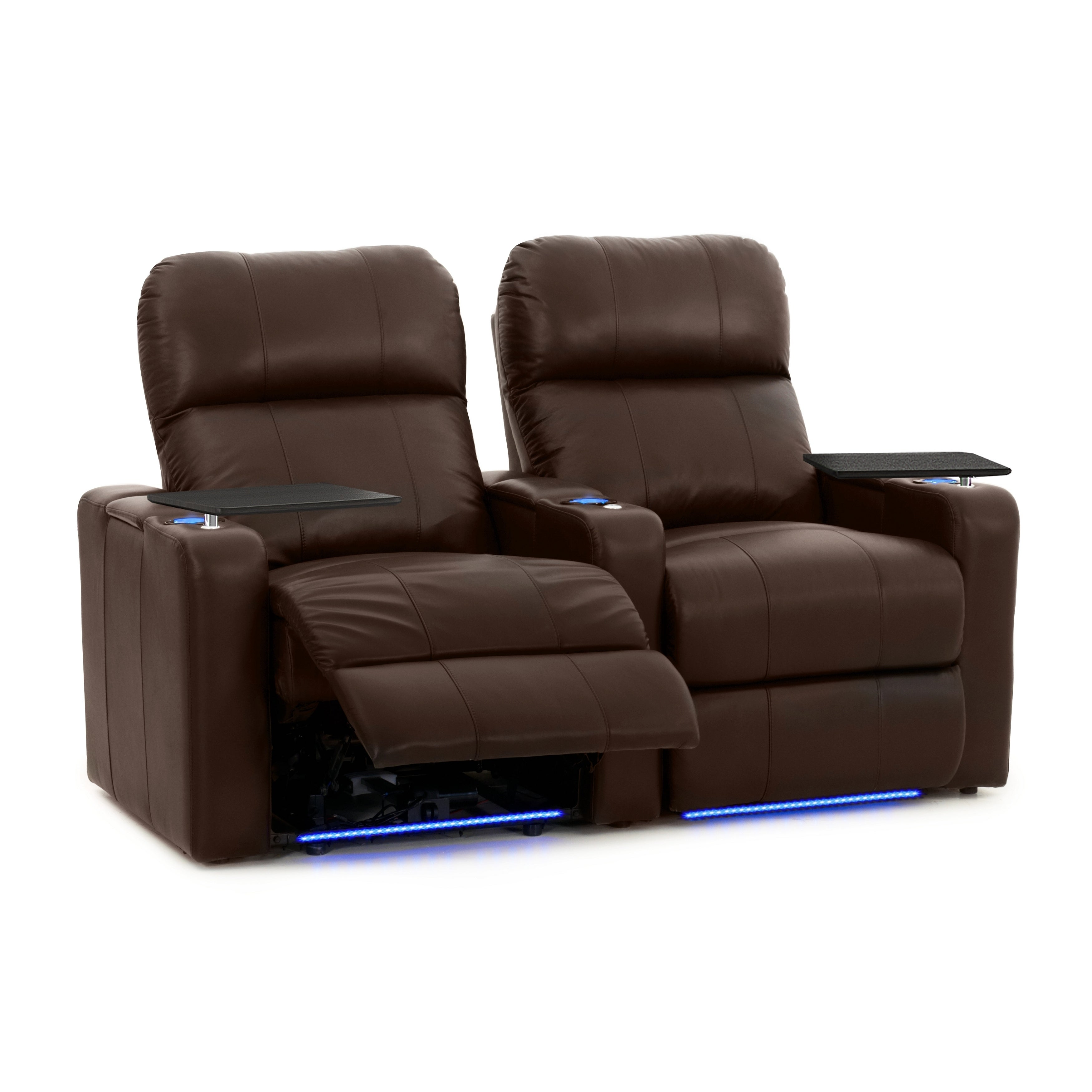 Octane Turbo XL700 Power Brown Leather 2-piece Home Theat...