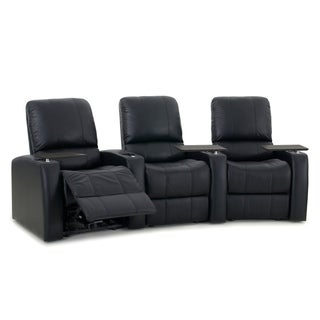 Octane Blaze XL900 Manual Leather Home Theater Seating Set (Row of 3)