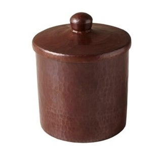 Antique Copper 4-inch Canister