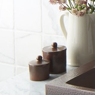 Antique Copper 3-inch Canister
