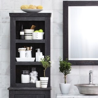 Americana Reclaimed Wood Bathroom Hutch
