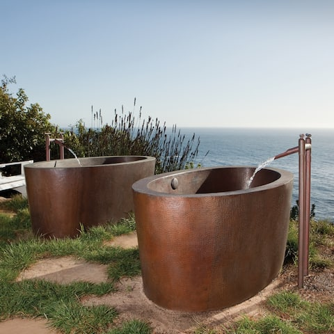 Buy Copper Soaking Tubs Online at Overstock.com | Our Best Bathtubs ...