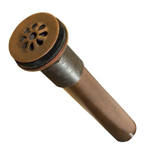 Weathered Copper 1.5-inch Teardrop Drain