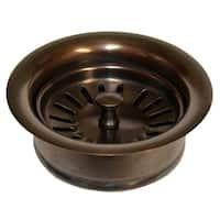 Solid Copper 3.5-inch Disposer Trim Basket Strainer