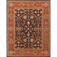 "Pasargad Modern Collection Hand-Tufted Lamb's Wool Area Rug (8' 2"" X 11' 4"")"