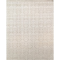 """Pasargad Modern Collection Beige Hand-Knotted Silk & Wool Rug (9' 2"""" X 11'11"""")"""