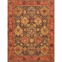 "Pasargad Kerman Collection Hand-Knotted Wool Area Rug (10' 0"" X 13'10"")"