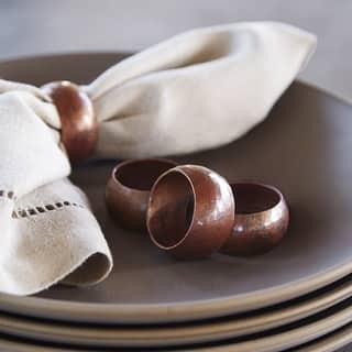 Handcrafted Antique Copper Napkin Rings (Set of 4) https://ak1.ostkcdn.com/images/products/18226119/P24366898.jpg?impolicy=medium