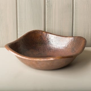 Monterey Handcrafted Tempered Copper Bowl