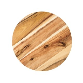 Acacia Wood 12-inch Lazy Susan