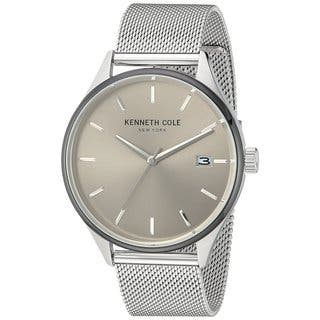 Kenneth Cole New York Men's 10030838 Stainless Steel Mesh Dress Watch|https://ak1.ostkcdn.com/images/products/18226150/P24366893.jpg?impolicy=medium